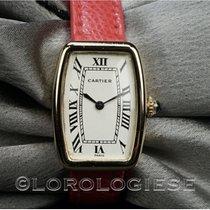 Cartier Tonneau Gelbgold 20mm Weiß Römisch Schweiz, Morcote