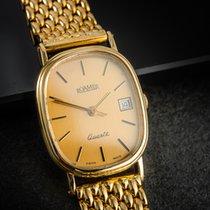 Roamer Yellow gold Quartz Gold No numerals 22mm pre-owned