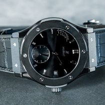 Hublot Classic Fusion 45, 42, 38, 33 mm Céramique 45mm Noir Sans chiffres