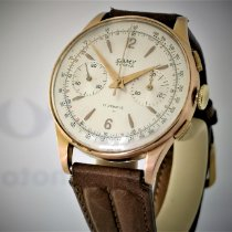 Chronographe Suisse Cie Or rose 38mm Remontage manuel 108 occasion