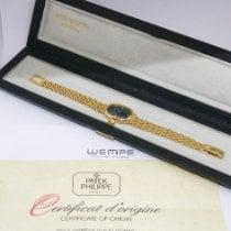 Patek Philippe Golden Ellipse Yellow gold 20mm Blue No numerals