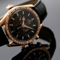 Omega Speedmaster Broad Arrow Rose gold 42mm Black