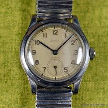 Gallet Steel 31mm Manual winding pre-owned