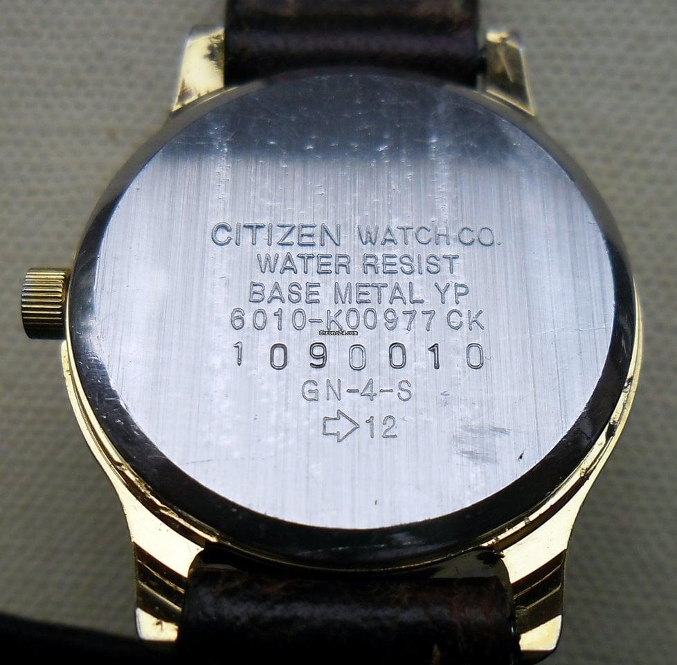 Citizen Watch Gn 4w S