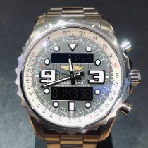 Breitling Chronospace Steel Grey