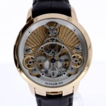 Arnold & Son Time Pyramid Rose gold 44.6mm Gold