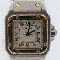 Cartier Santos Galbée Stahl 24mm Weiß Römisch Deutschland, München