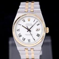 Rolex Datejust Oysterquartz Gold/Stahl 36mm Weiß Römisch Deutschland, Rosenheim