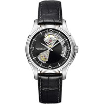 Hamilton Jazzmaster Open Heart new 2020 Automatic Watch with original box and original papers H32565735