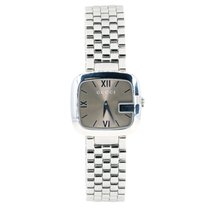 Gucci Acél 32mmmm Kvarc YA125410 Ladies Medium G-Gucci Watch w/Mink Face új
