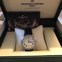 Frederique Constant Classics Automatic Steel 40mm White Roman numerals