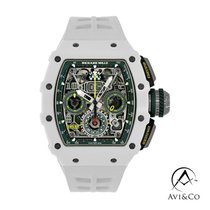 Richard Mille RM 011 Carbon 42mm Grey Arabic numerals
