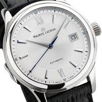 Maurice Lacroix Les Classiques Date Stahl 39mm Silber Römisch