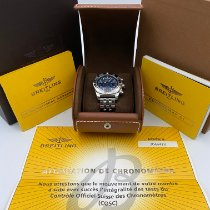 Breitling Chronomat 41 Steel 41mm Blue No numerals United States of America, New York, New York