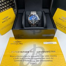 Breitling Superocean Héritage 46 Steel 46mm Black No numerals United States of America, New York, New York