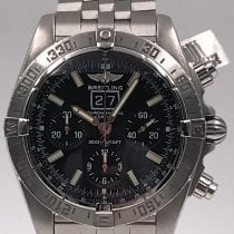 Breitling Blackbird Steel 44mm Black No numerals United States of America, New York, New York