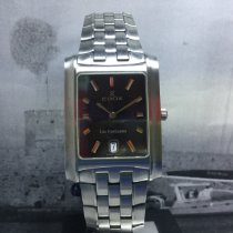 Edox Acero 31mm Cuarzo Edox,men's,steel, blue dial,clearance 390€ nuevo