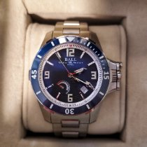 Ball Engineer Hydrocarbon Zeljezo 42mm Crn