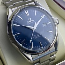 Omega Seamaster Aqua Terra Steel 42mmmm Blue No numerals