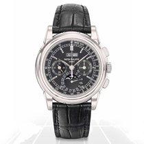 Patek Philippe Perpetual Calendar Chronograph Platinum 40mm Black No numerals