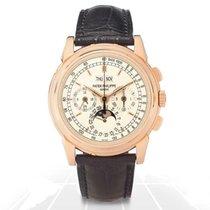 Patek Philippe 5970R-001 Rose gold Perpetual Calendar Chronograph 40mm pre-owned