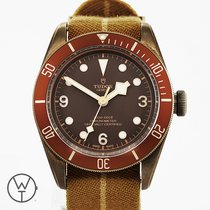 Tudor Automatic Brown 41mm pre-owned Black Bay Bronze