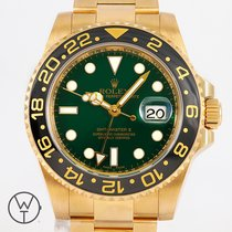Rolex GMT-Master II Oro amarillo 40mm Verde