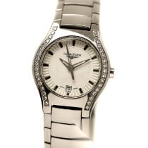 Longines Oposition Steel 25mm Silver No numerals