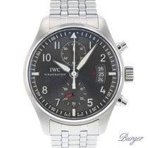 IWC Fliegeruhr Spitfire Chronograph IW387804 2012 gebraucht