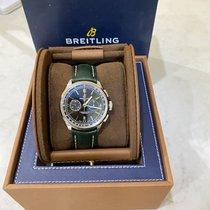 Breitling for Bentley Stahl 42mm Grün Keine Ziffern