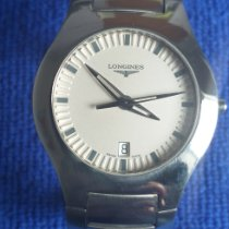 Longines Oposition Steel 36mm White