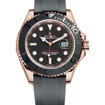 Rolex Yacht-Master 40 новые Автоподзавод Часы с оригинальными документами и коробкой 116655-0001