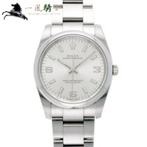 Rolex Oyster Perpetual 34 pre-owned 34mm Silver Steel