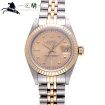 Rolex Lady-Datejust Zeljezo 26mm Boja šampanjca