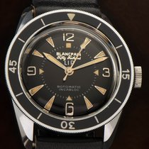 Blancpain Acier 35mm Remontage automatique Fifty Fathoms occasion France, Paris