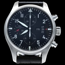IWC IW377701 Steel 2016 Pilot Chronograph 43mm pre-owned