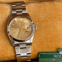 Rolex Oyster Perpetual Date Steel 34mm Bronze No numerals United Kingdom, London