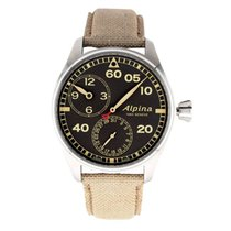 Alpina Startimer Pilot Manufacture Steel 44mm Brown United States of America, Texas, Plano