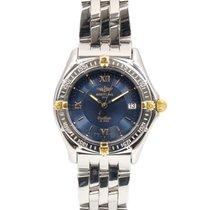 Breitling Callisto Gold/Steel 34mm Blue Roman numerals