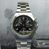 Edox Acero 41mm Cuarzo Edox,delfin,steel,chronograph,black dial,clearance 320€ nuevo