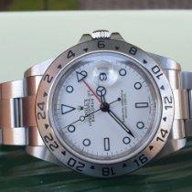 Rolex Explorer II Acier 40mm Blanc Sans chiffres France, Thonon les bains