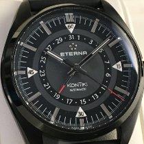 Eterna Kontiki Steel 42mm Black No numerals United States of America, Georgia, Acworth