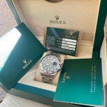 Rolex Explorer II Stål 42mm Sort Ingen tal