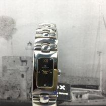 Edox Acero Cuarzo Negro 16mm nuevo