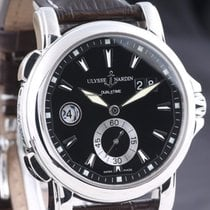 Ulysse Nardin Dual Time Steel 42mm Black No numerals United States of America, Oregon, Portland