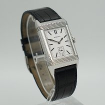 Jaeger-LeCoultre Grande Reverso Ultra Thin Duoface Steel Silver