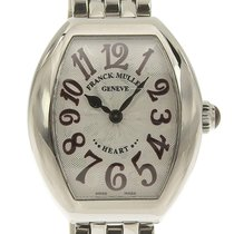 Franck Muller Heart Steel 26mm Silver