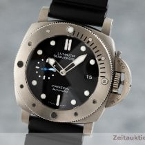 Panerai Luminor Submersible 1950 3 Days Automatic Tytan 47mm Czarny