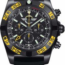 Breitling Chronomat GMT Steel 47mm Black