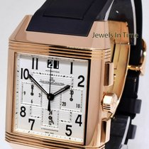 Jaeger-LeCoultre Reverso Squadra Chronograph GMT Rose gold 51mm Silver United States of America, Florida, 33431